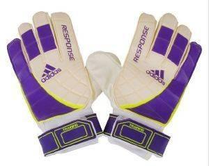 ΓΑΝΤΙΑ ΤΕΡΜΑΤΟΦΥΛΑΚΑ ADIDAS RESPONSE TRAINING ΛΕΥΚΟ ΜΩΒ Εξαιρετικά Adidas γάντια τερματοφύλακα  ιδανικά για προπόνηση Χάρη στον ενσωματωμένο ελαστικό επιδεσμο τον καρπό προσφέρουν την μέγιστη προστασία Διαθ
