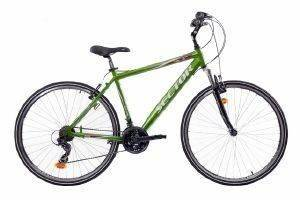 ΠΟΔΗΛΑΤΟ SECTOR HELIX GENT TREKKING 28  ΠΡΑΣΙΝΟ Χάρη στο σπορ χαρακτήρα του  τον εξοπλισμό αλά mountain bike και την άνετη για αναβάτη θέση οδήγησης το Helix Gent Trekking από Sector είναι ιδανικό τ