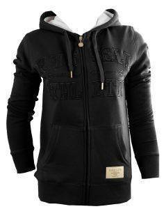 ΖΑΚΕΤΑ RUSSELL ZIP THROUGH HOODED SWEAT ΜΑΥΡΗ (S)