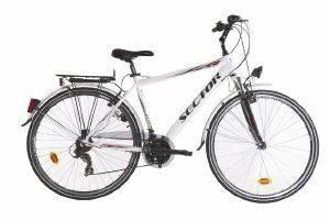 ΠΟΔΗΛΑΤΟ SECTOR HELIX GENT CITY 28  ΛΕΥΚΟ Ποδήλατο πόλης με 21 ταχύτητες και πλαίσιο αλουμινίου  Διαθέτει πλούσιο εξοπλισμό που περιλαμβάνει εμπρόσθια ανάρτηση φτερά οπίσθια σχάρα φανάρια προσ