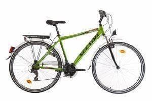 ΠΟΔΗΛΑΤΟ SECTOR HELIX GENT CITY 28  ΠΡΑΣΙΝΟ Ποδήλατο πόλης με 21 ταχύτητες και πλαίσιο αλουμινίου  Διαθέτει πλούσιο εξοπλισμό που περιλαμβάνει εμπρόσθια ανάρτηση φτερά οπίσθια σχάρα φανάρια προσ
