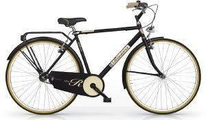 ΠΟΔΗΛΑΤΟ MBM RIVIERA MAN 28  ΜΑΥΡΟ Ο κλασσικός σχεδιασμός συναντά τις κομψές αποχρώσεις στη σειρά ποδηλάτων Riviera από την MBM  Ιδανικά για βόλτες με απαράμιλλο στυλ στην πόλη ή εξοχή