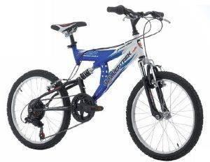 ΠΟΔΗΛΑΤΟ JUMPERTREK FREERIDER 26  ΜΠΛΕ ΛΕΥΚΟ Σε εντυπωσιακή μπλε απόχρωση και οικονομικά προσιτό  το Freerider 26 από την Jumpertrek είναι ένα full suspension ποδήλατο βουνού ιδανικό για όσους θέ