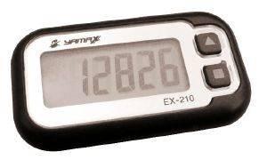 ΒΗΜΑΤΟΜΕΤΡΗΤΗΣ YAMAX EX-210 ΜΑΥΡΟΣ aθλητικά είδη χρονομετρα βηματομετρητεσ βηματομετρητεσ