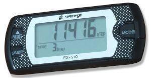 ΒΗΜΑΤΟΜΕΤΡΗΤΗΣ YAMAX EX-510 ΜΑΥΡΟΣ αθλητικά είδη χρονομετρα βηματομετρητεσ βηματομετρητεσ