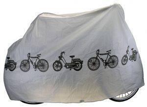 ΚΟΥΚΟΥΛΑ ΠΟΔΗΛΑΤΟΥ VENTURA ΓΚΡΙ (200 X 110 CM) 715160 αθλητικά είδη ποδηλασια αξεσουαρ κουκουλεσ