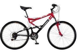 ΠΟΔΗΛΑΤΟ CLERMONT 984 PAMIR 26  ΚΟΚΚΙΝΟ ΜΑΥΡΟ Ποδήλατο με διπλή ανάρτηση για διαδρομές στο βουνό  Pamir 984 από την Clermont Η ελληνική εταιρία η οποία κατασκευάζει τα καταθιερωμένα πλέον ποδήλατα