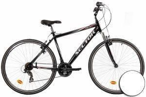 ΠΟΔΗΛΑΤΟ SECTOR HELIX GENT TREKKING 28  ΛΕΥΚΟ Χάρη στο σπορ χαρακτήρα του  τον εξοπλισμό αλά mountain bike και την άνετη για αναβάτη θέση οδήγησης το Helix Gent Trekking από Sector είναι ιδανικό τ