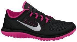 ΠΑΠΟΥΤΣΙ NIKE FS LITE RUN ΜΑΥΡΟ/ΦΟΥΞΙΑ αθλητικά είδη running γυναικα υποδηση παπουτσια για road running