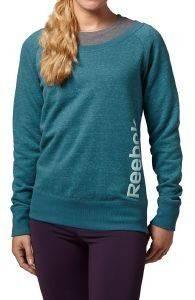 ΜΠΛΟΥΖΑ REEBOK ELEMENTS CREW NECK ΠΕΤΡΟΛ Μακρυμάνικη μπλούζα για την καθημερινή σας προπόνηση  από τη σειρά Elements της Reebok Η σύνθεσή ίνες πολυεστέρα βαμβακιού και rayon προσφέρει απαλή ά