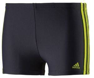ΜΑΓΙΟ ADIDAS PERFORMANCE INFINITEX 3-STRIPES BOXERS YOUNG ΓΚΡΙ/ΚΙΤΡΙΝΟ