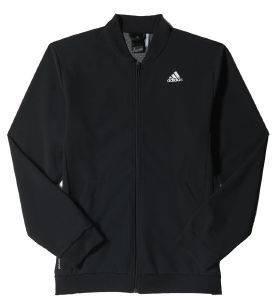ΖΑΚΕΤΑ ADIDAS PERFORMANCE COOL365 TRACK ΜΑΥΡΗ αθλητικά είδη training ανδρασ ενδυση jackets