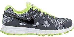 ΠΑΠΟΥΤΣΙ NIKE REVOLUTION 2 GS ΓΚΡΙ/ΛΑΪΜ αθλητικά είδη sportswear παιδι υποδηση παπουτσια