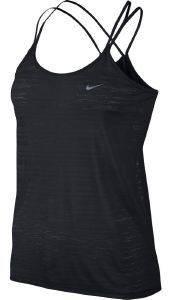 ΤΟΠ NIKE DRY-FIT COOL STRAPPY ΜΑΥΡΟ αθλητικά είδη running γυναικα ενδυση ραντακια