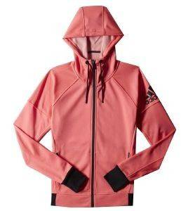 ΖΑΚΕΤΑ ADIDAS PERFORMANCE INFINITE DAYBREAKER HOODIE ΡΟΖ