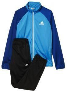 ΦΟΡΜΑ ADIDAS PERFORMANCE ENTRY TRACK SUIT ΜΠΛΕ/ΜΑΥΡΗ αθλητικά είδη sportswear παιδι ενδυση