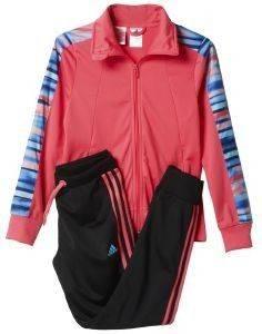 ΦΟΡΜΑ ADIDAS PERFORMANCE SEPARATES ALL OVER PRINT TRACK SUIT ΡΟΖ/ΜΑΥΡΗ αθλητικά είδη sportswear παιδι ενδυση φορμεσ