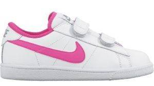 ΠΑΠΟΥΤΣΙ NIKE TENNIS CLASSIC PSV ΛΕΥΚΟ/ΡΟΖ (USA:12.5C, EUR:30) αθλητικά είδη sportswear παιδι υποδηση παπουτσια