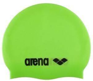 ΣΚΟΥΦΑΚΙ ARENA CLASSIC SILICONE CAP ΠΡΑΣΙΝΟ αθλητικά είδη υγροσ στιβοσ ανδρασ γυναικα αξεσουαρ σκουφακια