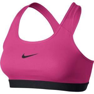 ΜΠΟΥΣΤΑΚΙ NIKE PRO CLASSIC BRA ΡΟΖ αθλητικά είδη training γυναικα ενδυση μπουστακια