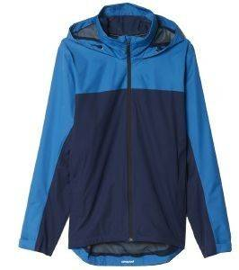 ΖΑΚΕΤΑ ADIDAS PERFORMANCE WANDERTAG JACKET CB ΜΠΛΕ