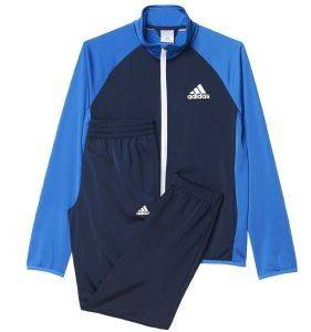 ΦΟΡΜΑ ADIDAS PERFORMANCE ENTRY TRACK SUIT CLOSED HEM ΜΠΛΕ αθλητικά είδη sportswear παιδι ενδυση φορμεσ