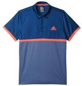 ΜΠΛΟΥΖΑ ADIDAS PERFORMANCE COURT POLO ΜΠΛΕ/ΑΝΘΡΑΚΙ αθλητικά είδη τεννισ ανδρασ ενδυση polo shirts