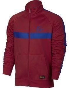 JACKET NIKE FC BARCELONA CORE KOKKINO αθλητικά είδη ποδοσφαιρο ανδρασ ενδυση jackets