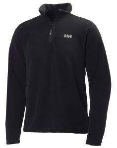 ΖΑΚΕΤΑ HELLY HANSEN DAYBREAKER 1/2 ZIP FLEECE ΜΑΥΡΗ