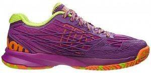 ΠΑΠΟΥΤΣΙ WILSON KAOS WOMEN'S ALL COURT ΜΩΒ (UK:5.5, EU:39)