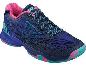 ΠΑΠΟΥΤΣΙ WILSON KAOS WOMEN'S ALL COURT ΜΠΛΕ (UK:5.5, EU:39)