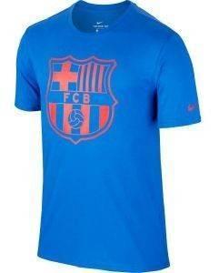 ΜΠΛΟΥΖΑ NIKE FC BARCELONA CREST TEE ΜΠΛΕ/ΚΟΚΚΙΝΗ αθλητικά είδη ποδοσφαιρο ανδρασ ενδυση t shirts