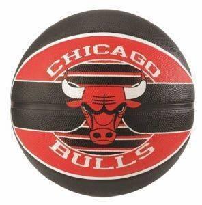 ΜΠΑΛΑ SPALDING CHICAGO BULLS ΜΑΥΡΗ/ΚΟΚΚΙΝΗ (7) αθλητικά είδη μπασκετ ανδρασ γυναικα αξεσουαρ μπαλεσ