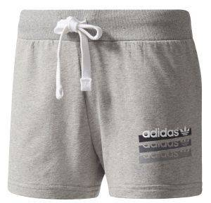 ΣΟΡΤΣ ADIDAS ORIGINALS SLIM SHORTS 2.0 ΓΚΡΙ