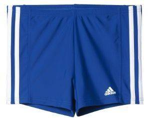 ΜΑΓΙΟ ADIDAS PERFORMANCE 3 STRIPES YOUTH BOXER ΜΠΛΕ/ΛΕΥΚΟ