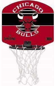 ΜΠΑΣΚΕΤΑΚΙ SPALDING CHICAGO BULLS ΜΑΥΡΟ/ΚΟΚΚΙΝΟ αθλητικά είδη μπασκετ ανδρασ γυναικα αξεσουαρ μπασκετακια