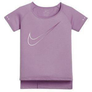 ΜΠΛΟΥΖΑ NIKE BREATHE CITY RUNNING TOP ΜΩΒ