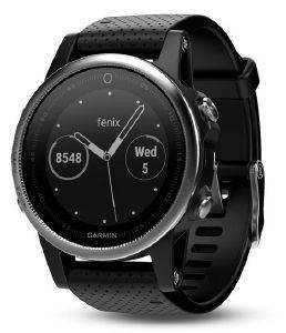 ΡΟΛΟΪ GARMIN FENIX 5S SILVER WITH BLACK BAND