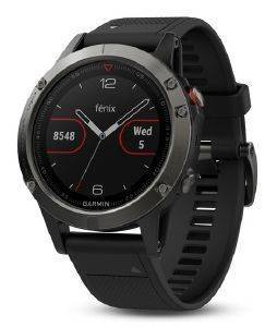 ΡΟΛΟΪ GARMIN FENIX 5 SLATE GREY WITH BLACK BAND