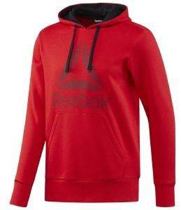ΦΟΥΤΕΡ REEBOK SPORT WORKOUT READY BIG LOGO HOODIE ΚΟΚΚΙΝΟ