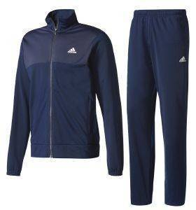 ΦΟΡΜΑ ADIDAS PERFORMANCE BACK-2-BASICS TRACK SUIT ΜΠΛΕ (5)