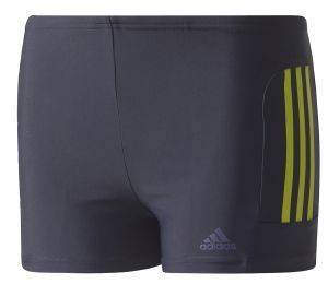 ΜΑΓΙΟ ADIDAS PERFORMANCE INFINITEX EC 3 STRIPES BOXER ΜΠΛΕ ΣΚΟΥΡΟ