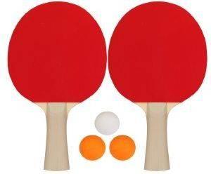 ΣΕΤ PING-PONG GET - GO RECREATIONAL ΚΟΚΚΙΝΟ/ΜΑΥΡΟ αθλητικά είδη ping pong εξοπλισμοσ ρακετεσ ping pong