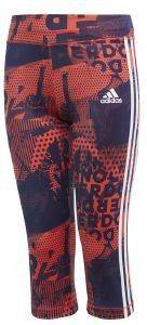 ΚΟΛΑΝ 3/4ADIDAS PERFORMANCE GEAR UP TIGHT ΚΟΡΑΛΙ/ΜΩΒ (170 CM)