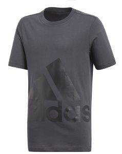 ΜΠΛΟΥΖΑ ADIDAS PERFORMANCE ESSENTIALS BIG LOGO TEE ΑΝΘΡΑΚΙ