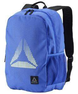 a09da98da9 ΤΣΑΝΤΑ ΠΛΑΤΗΣ REEBOK SPORT KIDS FOUNDATION BACKPACK ΜΠΛΕ ...