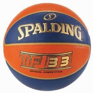 ΜΠΑΛΑ SPALDING TF-33 OFFICIAL GAME BALL COMPOSITE (6) αθλητικά είδη μπασκετ ανδρασ γυναικα αξεσουαρ μπαλεσ