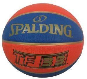 ΜΠΑΛΑ SPALDING TF-33 OFFICIAL GAME BALL RUBBER (6) αθλητικά είδη μπασκετ ανδρασ γυναικα αξεσουαρ μπαλεσ