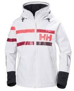ΜΠΟΥΦΑΝ HELLY HANSEN SALT POWER JACKET ΛΕΥΚΟ