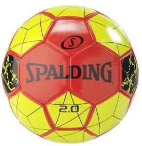 ΜΠΑΛΑ SPALDING SOCCER BALL 2.0 ΚΟΚΚΙΝΗ/ΚΙΤΡΙΝΗ (5) αθλητικά είδη ποδοσφαιρο ανδρασ αξεσουαρ μπαλεσ